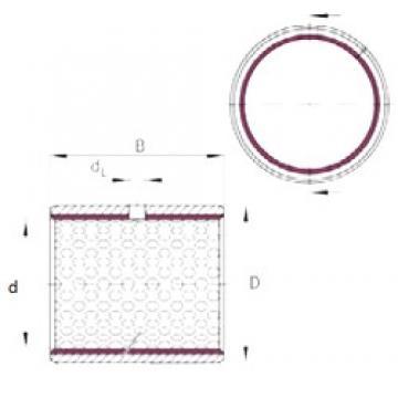 INA EGB4550-E50 plain bearings