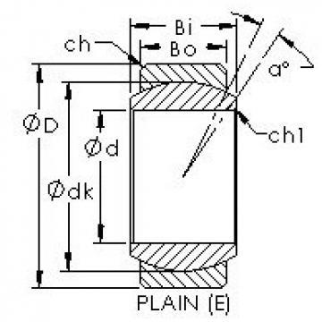 AST GE12E plain bearings