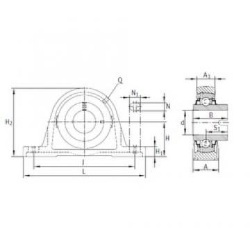 INA RASEL70 bearing units