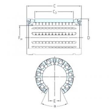 SKF LBHT 50 A-2LS linear bearings