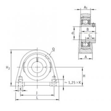 INA PSHEY30-N bearing units