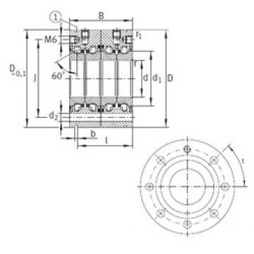 INA ZKLF40100-2RS-2AP thrust ball bearings