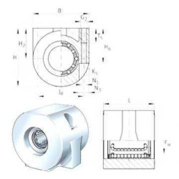 INA KGHA16-PP bearing units