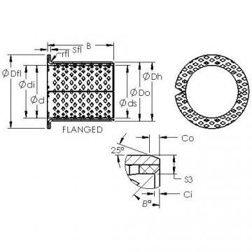 AST ASTB90 F6030 plain bearings