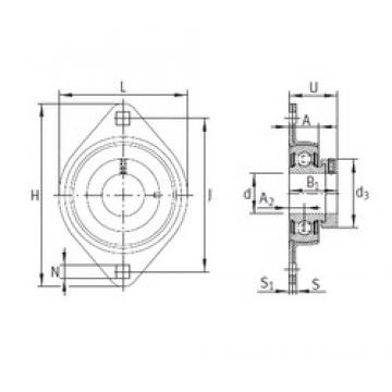 INA PCSLT20 bearing units