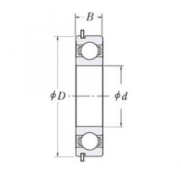 CYSD 6817NR deep groove ball bearings
