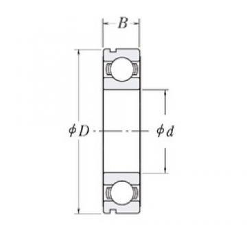 CYSD 6904N deep groove ball bearings