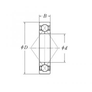 CYSD QJF207 angular contact ball bearings