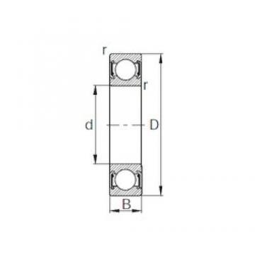 CYSD 6828-2RZ deep groove ball bearings