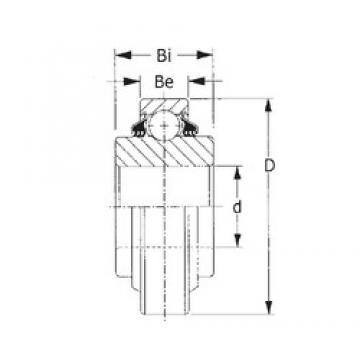 CYSD GW214PP2 deep groove ball bearings