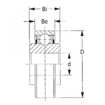 CYSD 208KRR2 deep groove ball bearings