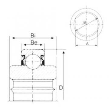 CYSD 206KRR6 deep groove ball bearings