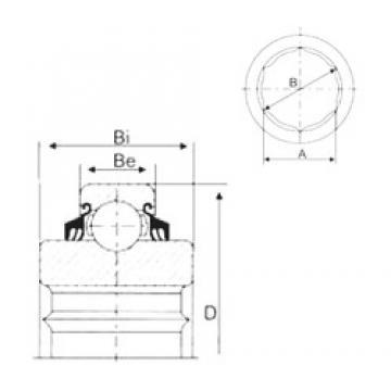 CYSD GC211-32-NLC deep groove ball bearings