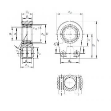 INA GIHRK 35 DO plain bearings
