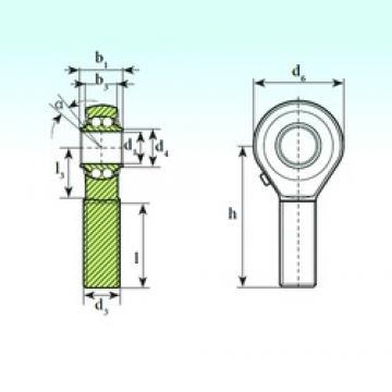 ISB TSM 35 BB self aligning ball bearings