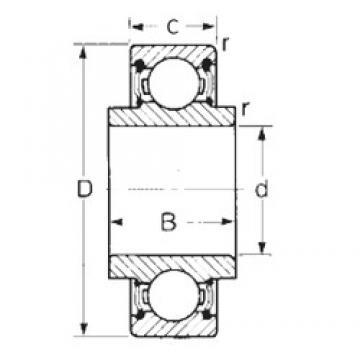 CYSD 88502 deep groove ball bearings