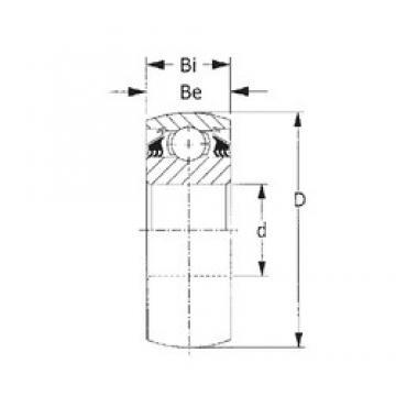 CYSD W214PPB2 deep groove ball bearings