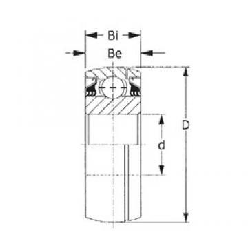 CYSD GW214PPB2 deep groove ball bearings