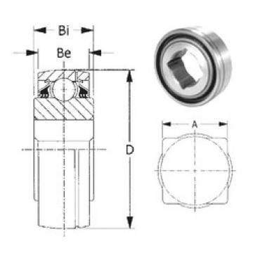 CYSD GW208PPB8 deep groove ball bearings
