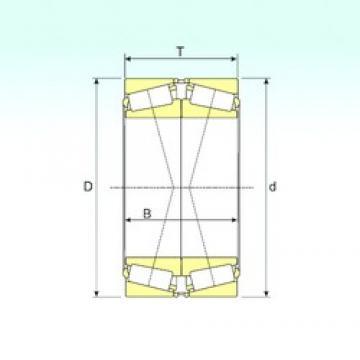 ISB 32936/DF tapered roller bearings