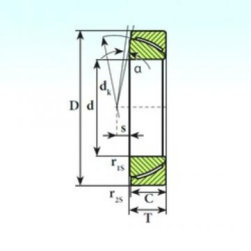 ISB GAC 200 SP plain bearings