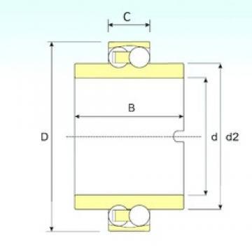 ISB 11209 TN9 self aligning ball bearings