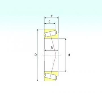 ISB 3586/3525 tapered roller bearings