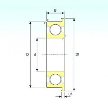 ISB F691 deep groove ball bearings