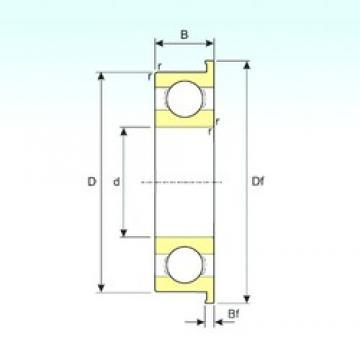 ISB F691X deep groove ball bearings