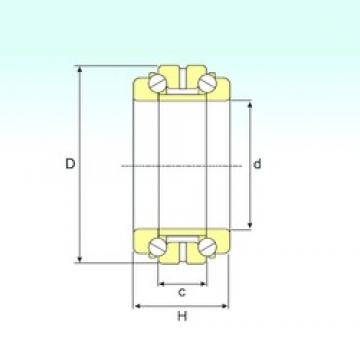 ISB 234436 thrust ball bearings