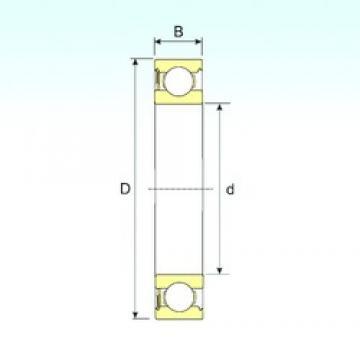 ISB 628-RS deep groove ball bearings