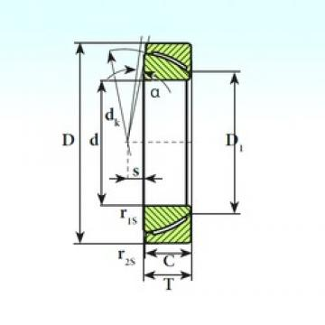 ISB GAC 60 CP plain bearings