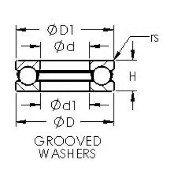 AST 51104 thrust ball bearings