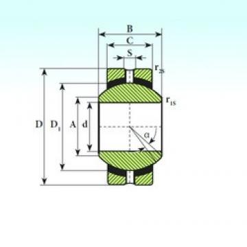 ISB SSR 17 plain bearings