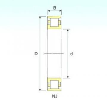 ISB N 28/1060 cylindrical roller bearings