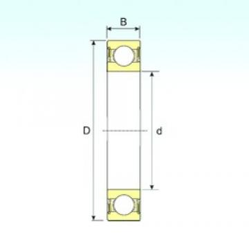 ISB 62200-2RS deep groove ball bearings
