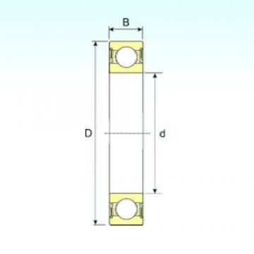 ISB 62206-2RS deep groove ball bearings