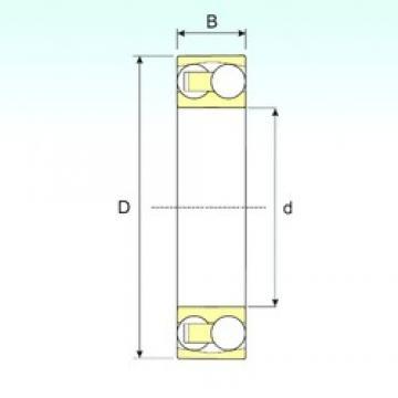 ISB 2311 self aligning ball bearings