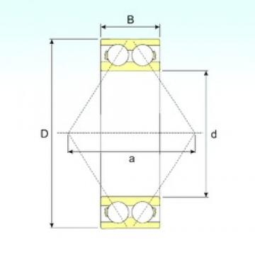 ISB 3307 ATN9 angular contact ball bearings