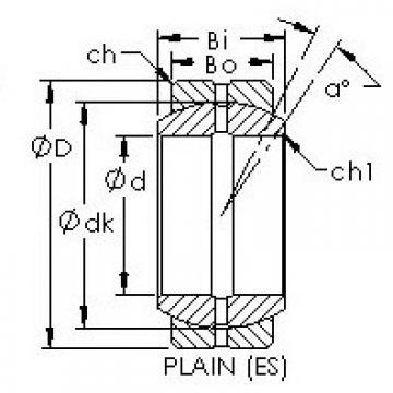 AST GE240ES plain bearings
