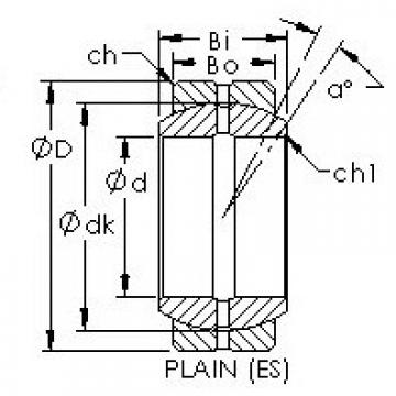 AST GEGZ82ES plain bearings