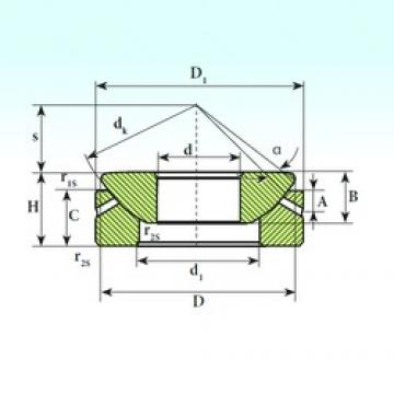 ISB GX 160 S plain bearings
