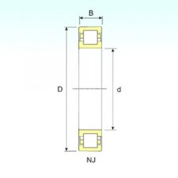 ISB NUP 2318 cylindrical roller bearings