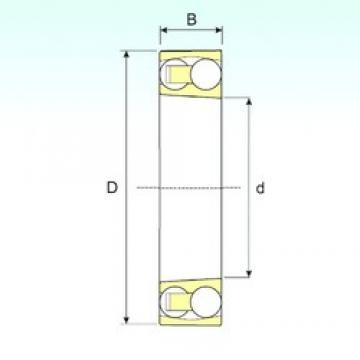 ISB 1207 KTN9 self aligning ball bearings