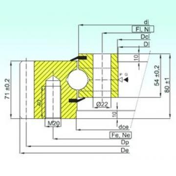 ISB EB1.25.0955.201-2STPN thrust ball bearings