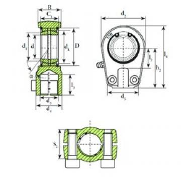 ISB TAPR 570 U plain bearings