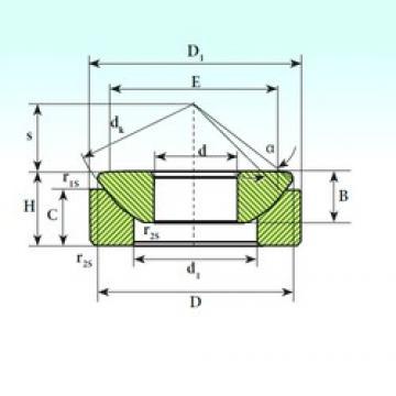 ISB GX 200 CP plain bearings