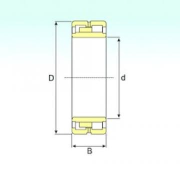 ISB NNU 4876 W33 cylindrical roller bearings