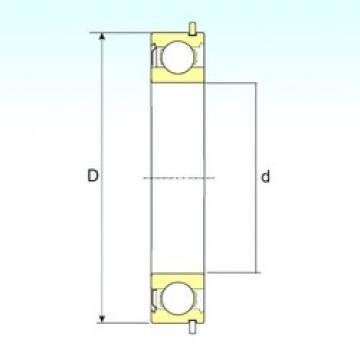 ISB 6209-ZNR deep groove ball bearings