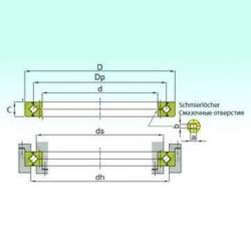 ISB RB 80070 thrust roller bearings